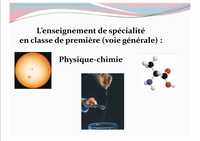 Diaporama Physique-Chimie